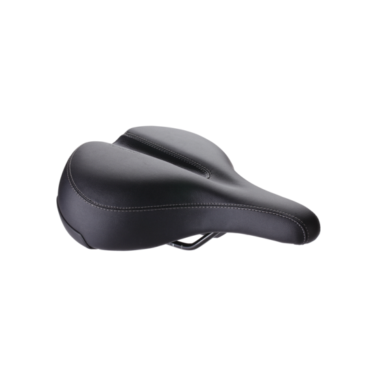 BBB zadel SoftShape Relaxed 205x265mm zwart 205 x 265mm