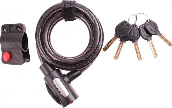 Cycle Tech Spiral Lock sleutel 150cm